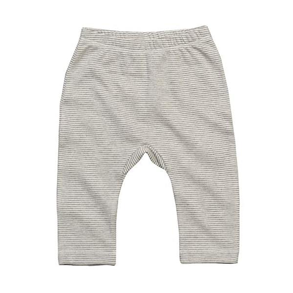 Babybugz polainas de jersey de bebe a rayas Pantalones para ninos pequenos 1