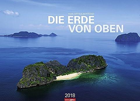 Die Erde von oben - Kalender 2018
