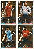 MATCH ATTAX 2018/19 All Four (4) Bronze Limitierte Edition Karten – mit Ali – Henderson – Pogba – Sane