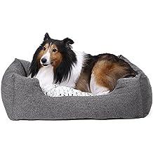Songmics Cómodo Casa para mascotas, Cama para perros Perrera PGW22G