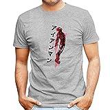 Red Sun Tony Stark Iron Man Men's T-Shirt