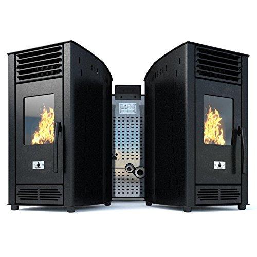 Estufa-pellets-Pellet-estufa-Estufa-Pellet-Estufa-de-pellets-Estufa-ventilador-Estufa-de-pellet-Eco-Spar-modelo-de-aire-Solara-salida-de-calor-6kW