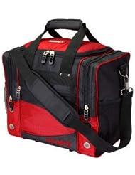 Ebonite Transport III Sac de transport pour boule de bowling Noir/rouge