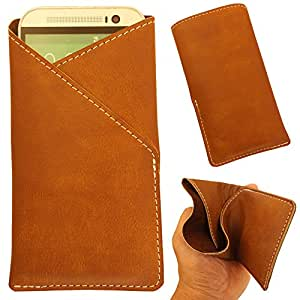 Intex Aqua 3G NS - Pu Leather Mobile Pouch Cover Soft & Flexible (Be Unique Buy Unique) Buy It Now By Star Diamond