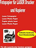 P4L – 50 Blatt LASERDRUCKER FOTOPAPIER 135gr/m² BEIDSEITIG GLÄNZEND