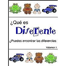 ¿Qué es diferente (¿Puedes encontrar las diferencias nº 1)