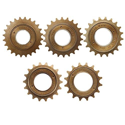 LaDicha Bikight 16T/18T/20T/22T/24T Fahrrad Fahrrad Einzel Gang Freilauf Schwungrad Ritzel Parts-22