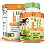 Vitamine B12 Cyano-cobalamine, Supplément haute résistance 250 ug, Meilleures pilules si vous avez une Déficience...