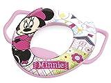 Lulabi Disney Minnie Riduttore WC Morbido con Maniglie, Rosa