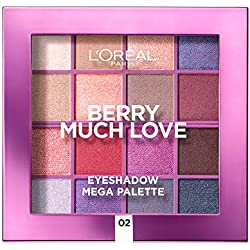 L 'Oréal Paris Méga paleta sombras de ojos (Berry Much Love 17 G