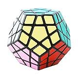 COOJA Speed Megaminx, Profi Zauberwürfel Dodecahedron Puzzle Magic Würfel Speedcube Knobelspiele Schwer Konzentrationsspiele für Kinder
