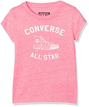 76919f84099d Converse Girl s Varsity All Star Tee T-Shirt