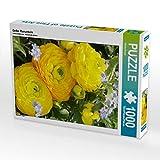 CALVENDO Puzzle Gelbe Ranunkeln 1000 Teile Lege-Größe 48 x 64 cm Foto-Puzzle Bild von Gisela Kruse