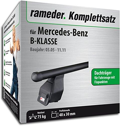 Rameder Komplettsatz, Dachträger Tema für Mercedes-Benz B-KLASSE (118784-05396-10)
