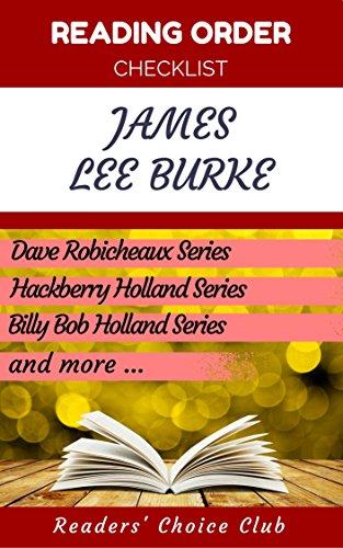 Reading order checklist: James Lee Burke - Series read order: Dave Robicheaux, Hackberry Holland,...
