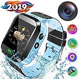 Kids Smartwatch, Smartwatch per ragazze e ragazzi, localizzazione LBS, messaggio vocale / di testo, SOS, allarmi, torcia elettrica, giochi matematici, orologio per bambini