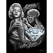 Diamonds By David Gonzales Art Canvas Giclee by David Gonzales Art