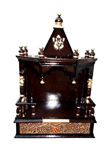 Elegant Quality Creations Home Temple/Pooja Mandir/Wooden Temple/Temple For Home/ Mandir