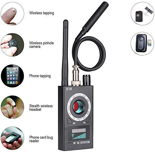 Rilevatore di insetti anti spia RF rilevatore di segnale per GPS Tracker telecamera nascosta Ineterceptor a casa in ufficio negoziazione di affari