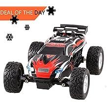Smibie 2.4Ghz Ferngesteuerte Auto 4WD Remote Control Rock Crawler Truck Geländewagen 1:18 Wiederaufladbare Batterien Enthalten