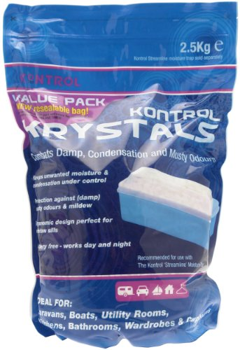 Price comparison product image Kontrol Moisture Krystal Refill Pack - Blue, 2.5Kg