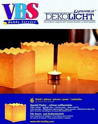 Lichttten Mini Basic 6 Stck von VBS Hobby Service GmbH