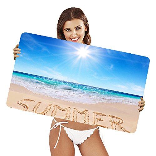 xtremepads-alfombras-de-raton-extra-grande-artistic-summer-sand-ocean-sun-horizon-beach-