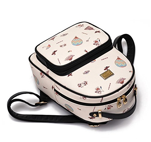 Beibaobao , Damen Schultertasche One Size Cream White 192