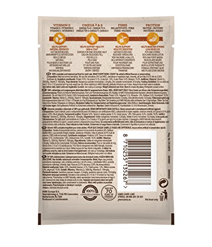 Iams Naturally Complete Land & Sea Collection Adult Cat Food Pouches, 12x85g 9
