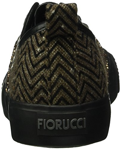 Fiorucci Fdad020, Baskets Basses Femme Marron - Braun (Marrone)