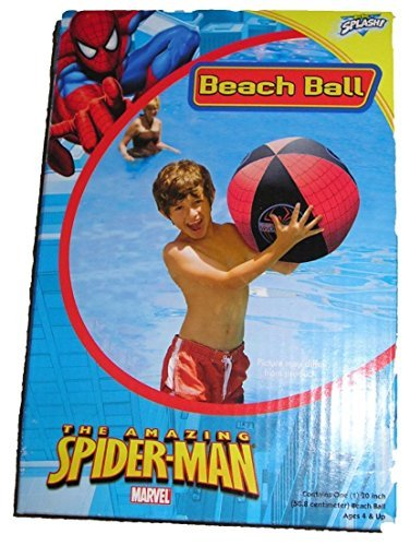 Spiderman Beach Ball by Big Time Toys (Big Beach Ball)
