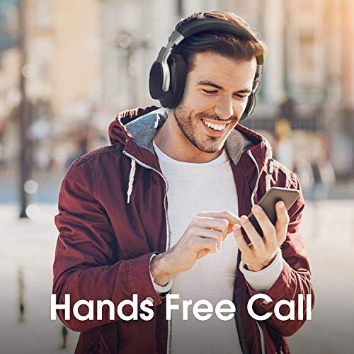 AUSDOM ANC8 Active Noise Cancelling Kopfhörer, Bluetooth Kopfhörer, Noise Cancelling Kopfhoerer mit Super HiFi, Faltbare, Komfortabler Ohrpolster, Integiertes Mikrofon, 20 Stunden Spielzeit - 6