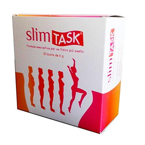 SLIMTASK: integratore dimagrante in bustine, brucia grassi, per la perdita di peso senza fatica. Riduce (Perdita Di Grasso)