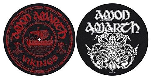 Preisvergleich Produktbild AMON AMARTH DJ SLIPMAT FILZMATTE VIKINGS LOGO