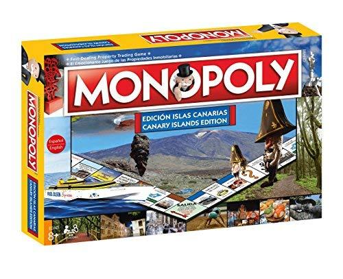 Monopoly Islas Canarias. Juego Mesa- Versión bilingüe