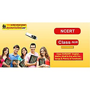 Class NURSERY CBSE NCERT USB Pendrive Course (Engilsh Maths Hindi Evs) with FUN Songs Plenty of FUNSHEETS All Lessons are Interactive Multimedia Video Lessons with multiple Questions on the Basis of CBSE Evaluation Blue Print