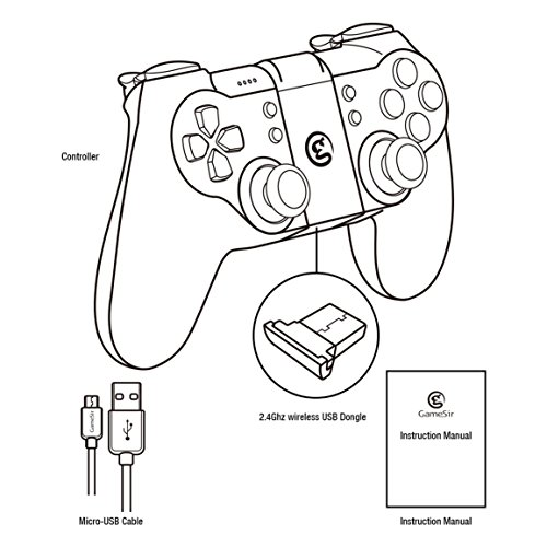 Bluetooth Gamepad/ Wireless/Wire Gamepad, 2 4G Gaming