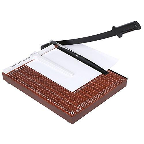 Homdox Hebelschneider Fotoschneider Papierschneider Papierschneidemaschine Schneidegerät Schrottmaschine (B4)