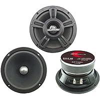 Lanzar Opti Pro - Altavoces coaxiales para coche de 500 W, negro