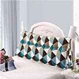 YOTA HOME Bedside Rückenlehne Bedside Kissen Double Soft Bed Back, Dreieck Big Kissen Sofa Taille Taille PillowLong Kissen (Farbe : B2, größe : 100 * 22 * 50cm)