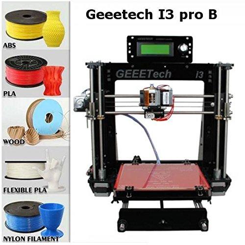 Geeetech ® Prusa Acrylique I3 Pro B structure à bricoler imprimante 3D en kit DIY,5 types de filament , Imprimante 3D de Bureau , CNC Exellent