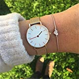 Yesiidor Herz Anhänger Gewinde Gewebt Armband Frauen Mädchen Fashion Stylisch Charming Freundschaft Paar Armband Schmuck Geschenk, 4#, Siehe Produktbeschreibung