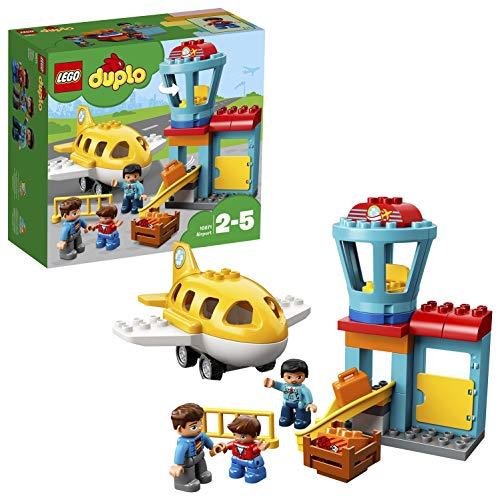 LEGO Duplo 10871 - Flughafen, Ideales Spielzeug für Kinder im Alter von 2 bis 5 Jahren (Lego Krankenwagen Set)