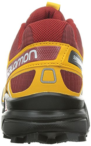 Salomon Speedcross 3, Scarpe da Trail Running Uomo Rosso (Rot (Flea/Yellow  Gold/White))
