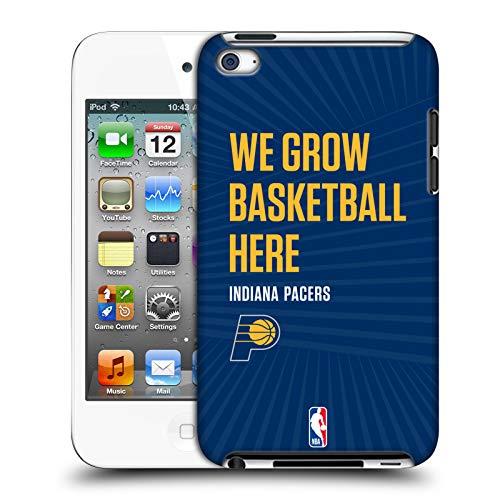 Head Case Designs Offizielle NBA Pacers We Grow Basketball Here 2018/19 Team Slogan 2 Harte Rueckseiten Huelle kompatibel mit Apple iPod Touch 4G 4th Gen Pac Ipod