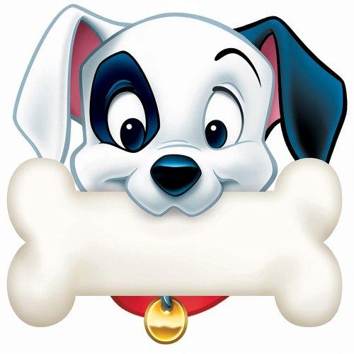 Eureka 101 Dalmatians Dog Bone Paper Cut Outs -