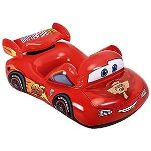 Intex 58391 - Macchinina Cars, 109 x 66 cm