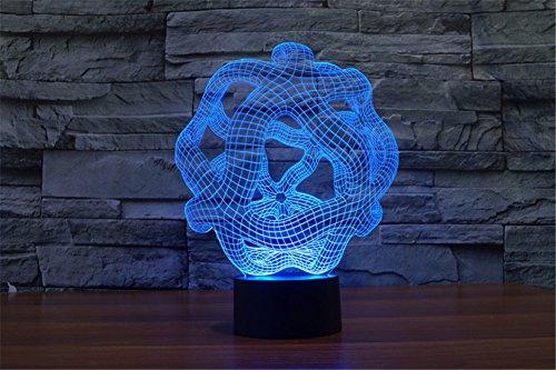 LOTOS® 3D Poligono Tridimensionale spazio ordito Abstractive Optical Illusion 7