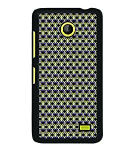 Colourful Pattern 2D Hard Polycarbonate Designer Back Case Cover for Nokia X :: Nokia Normandy :: Nokia A110 :: Nokia X Dual SIM RM-980 with dual-SIM card slots