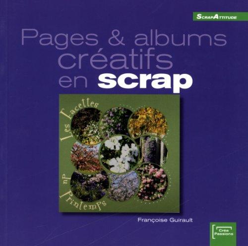 Pages et albums créatifs en scrap